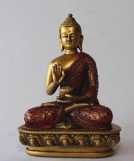 rød buddha